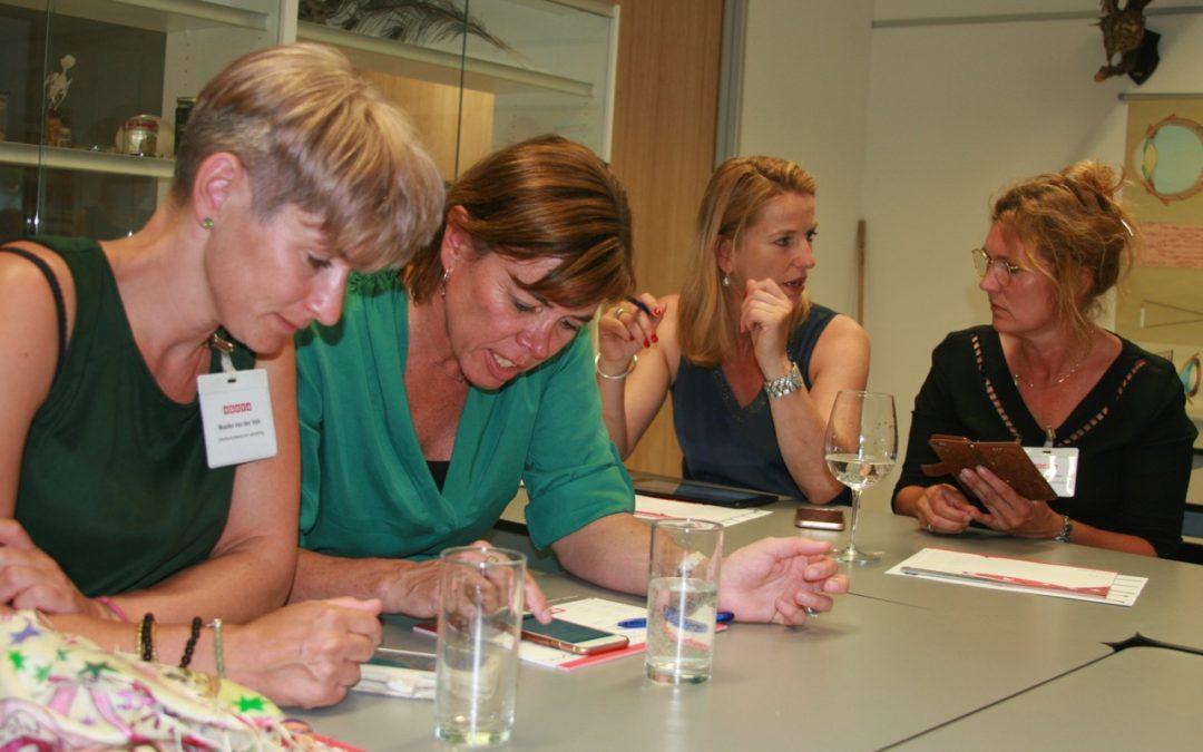 Ondernemers leren van elkaar over social media tijdens NOOVA-academy