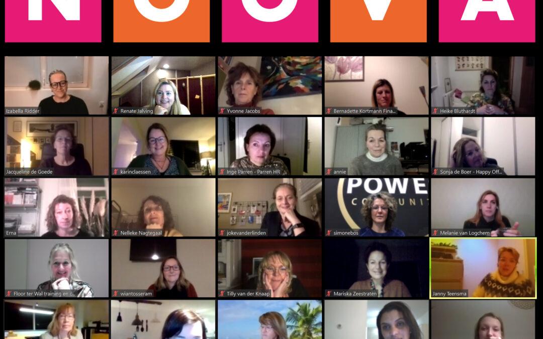 Inter-netwerken met 30 ondernemende dames